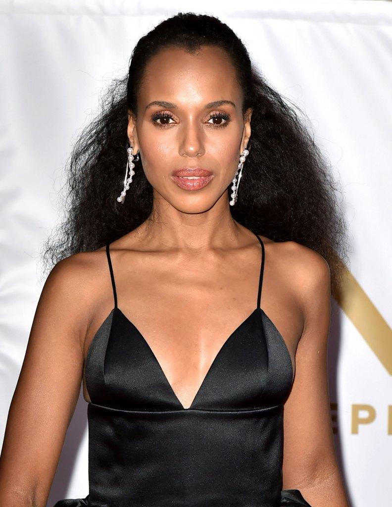 Kerry Washington's 20128 NAACP Awards Hair and Makeup Look: How-To