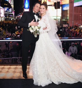 Maria Menounos Keven Undergaro New Year's Eve Wedding