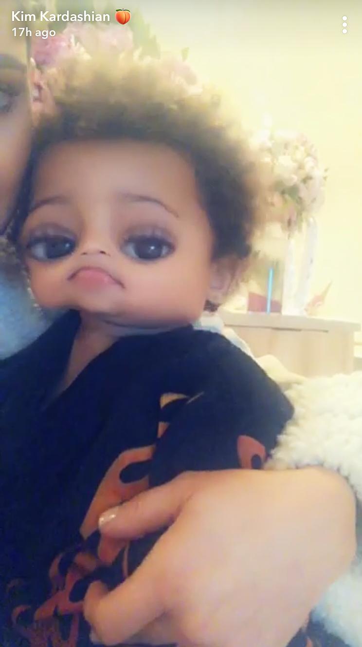 Kim Kardashian Shares Adorable Videos Featuring Son Saint