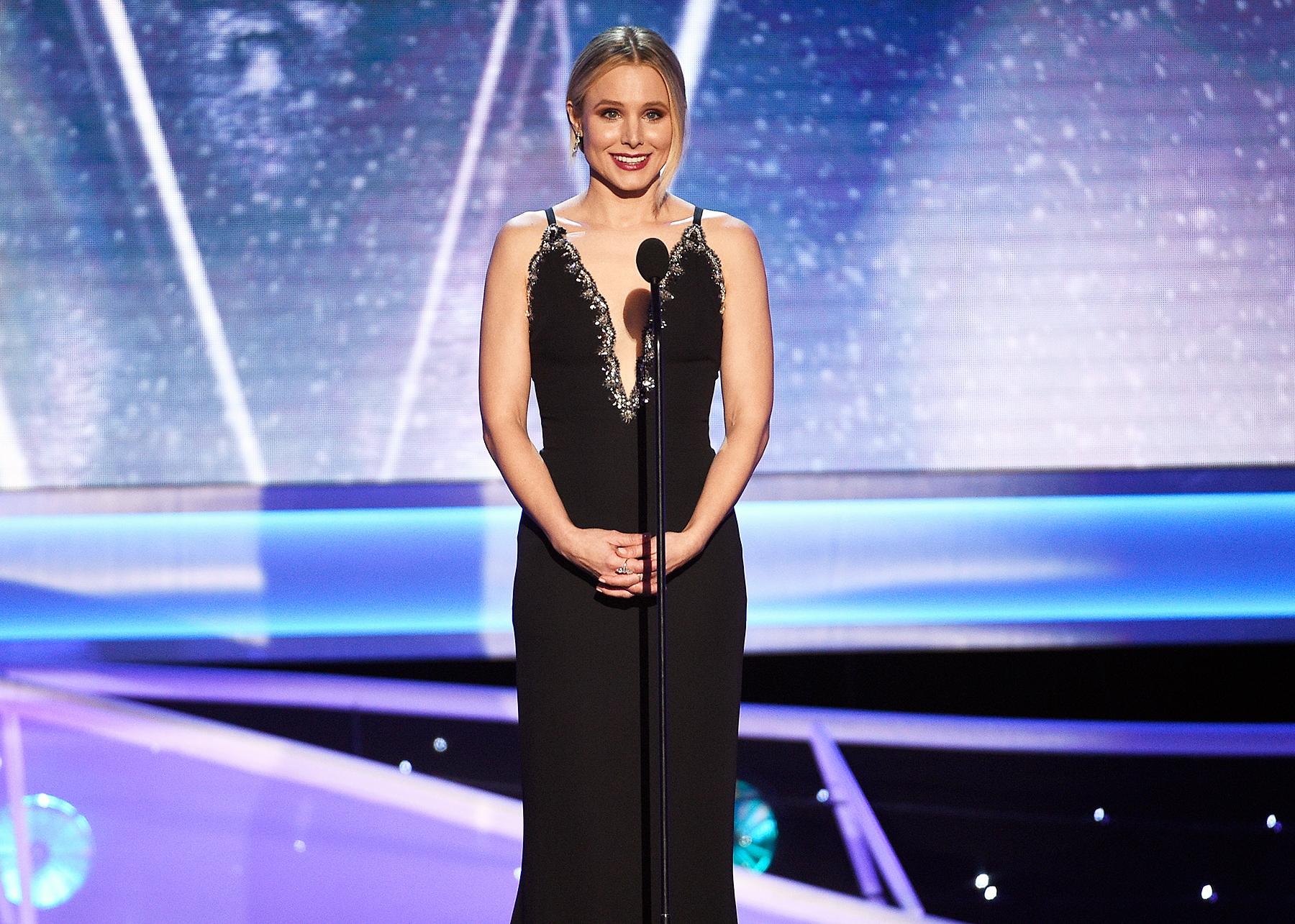 Kristen Bell opening SAGs 2018