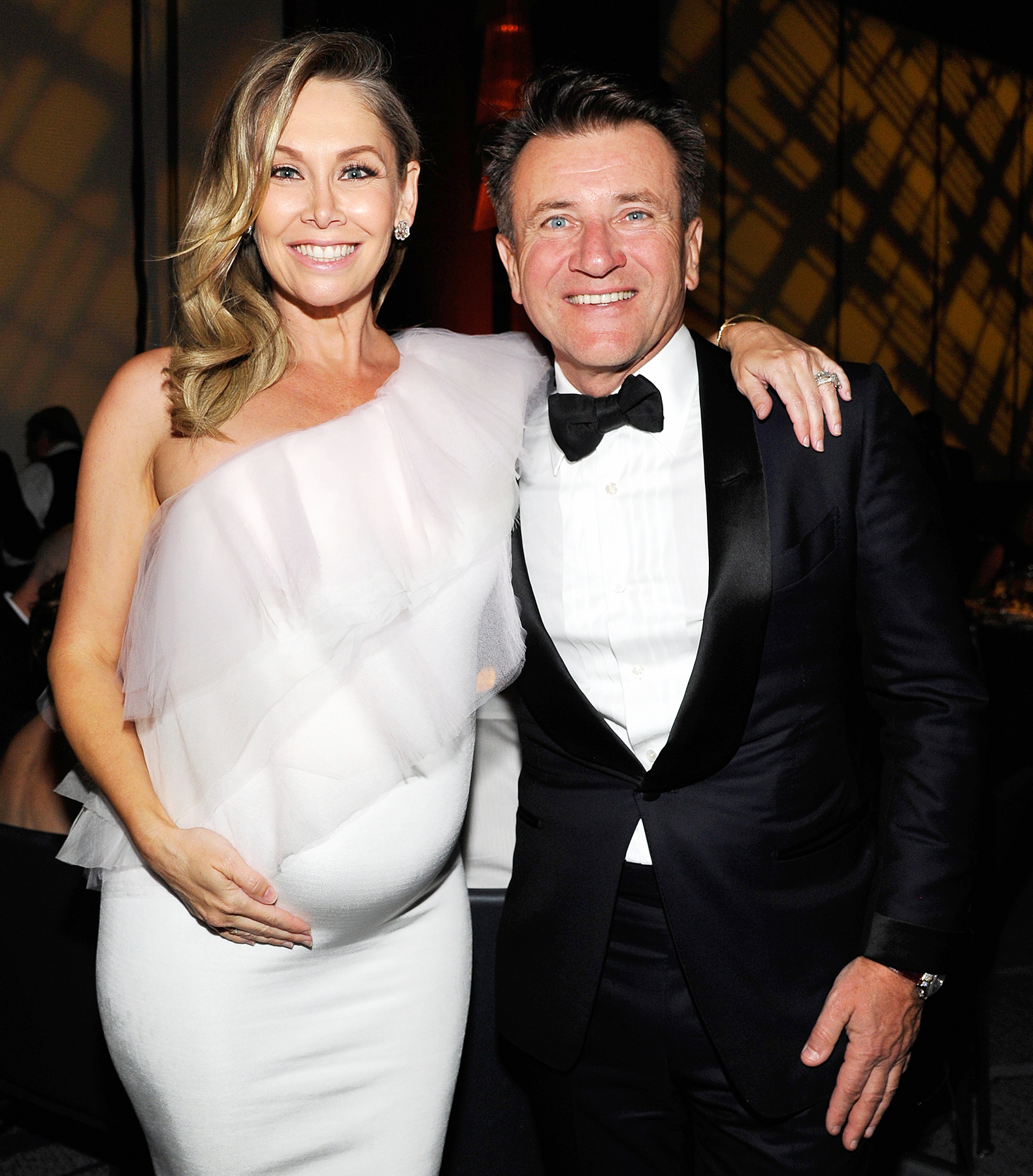 Kym Johnson Robert Herjavec 2018 G'Day USA Black Tie Gala