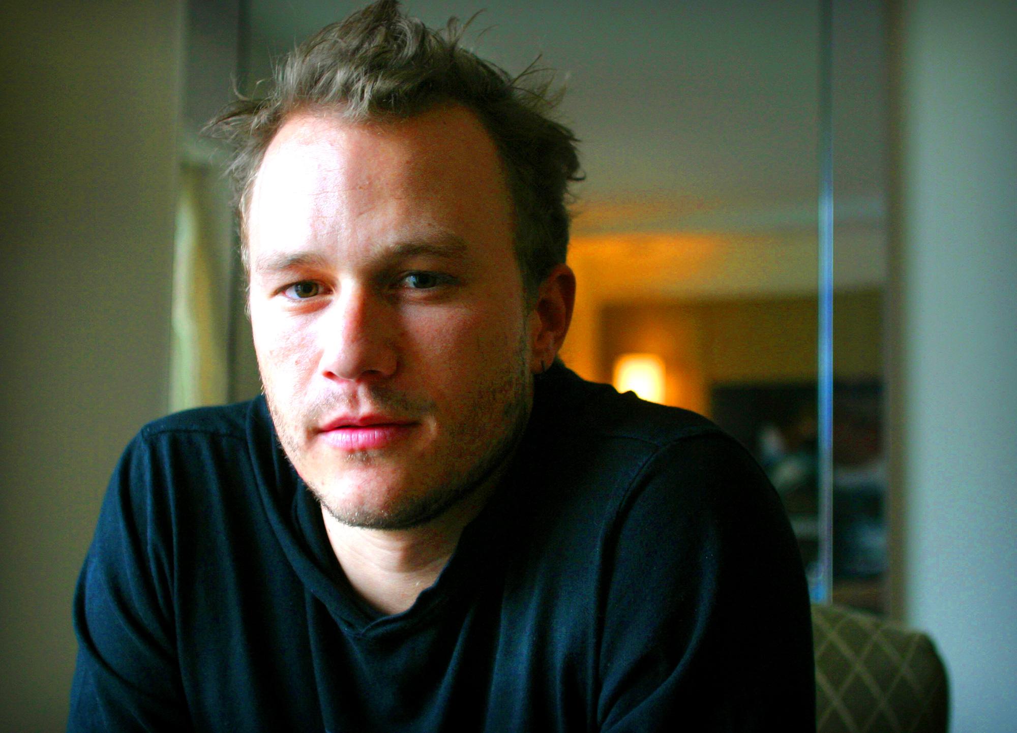 Heath Ledger Though The Years Brokeback Mountain Dark Knight