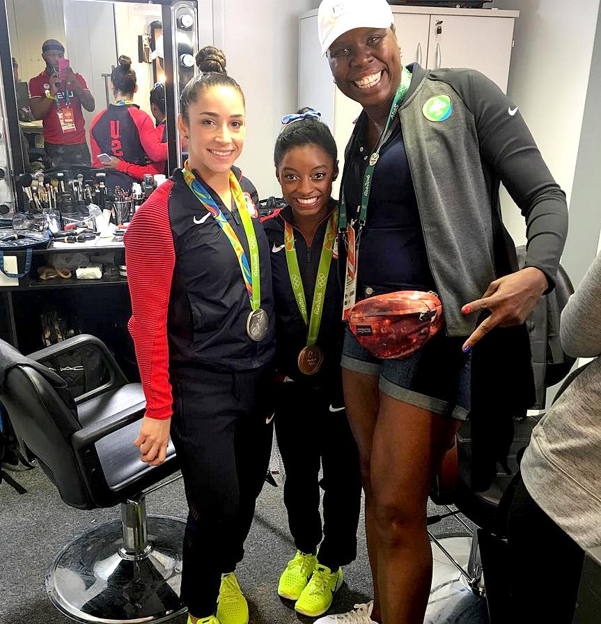 Leslie Jones Olympics