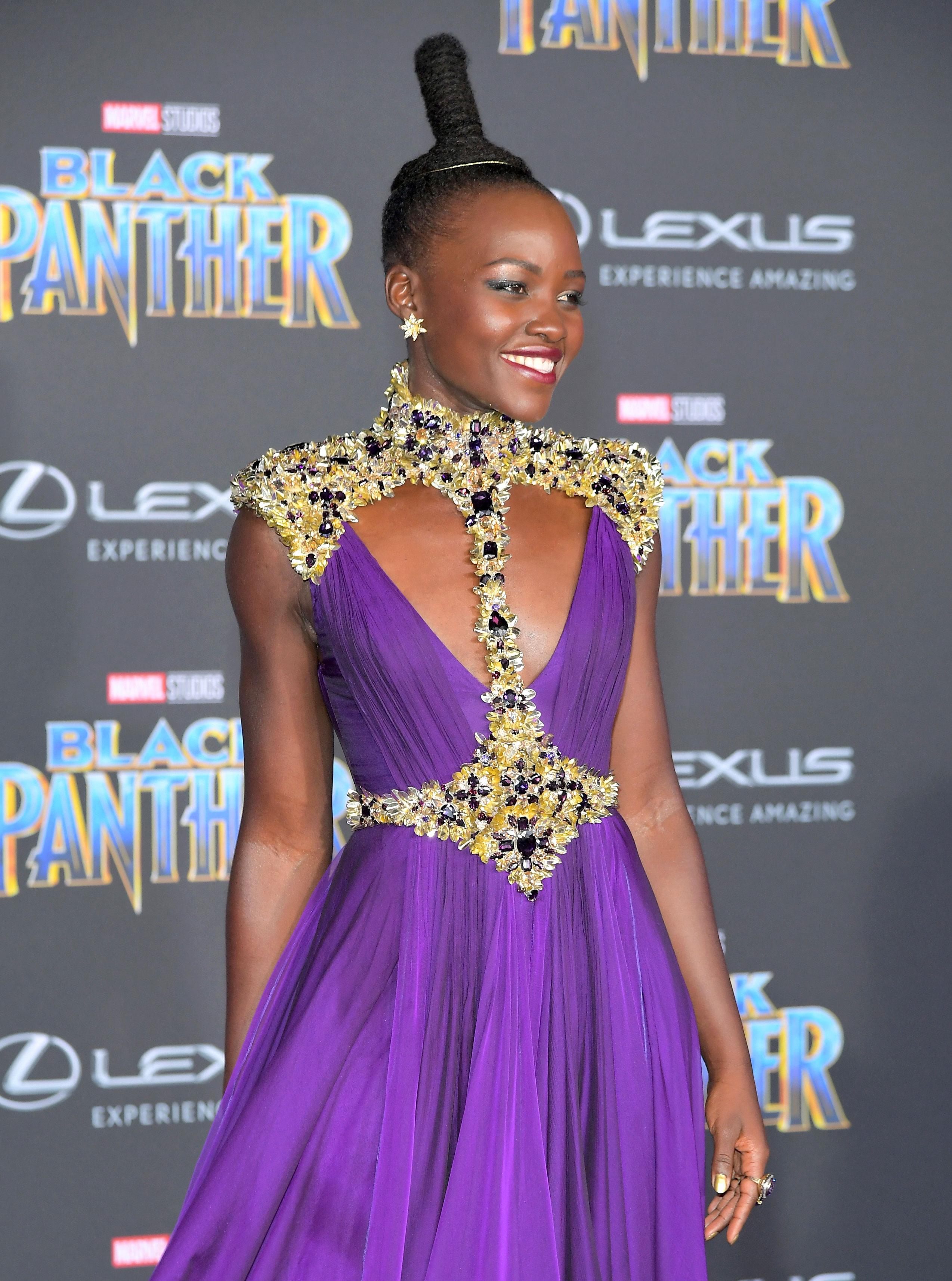 Lupita Nyongos Best Red Carpet Fashion Style