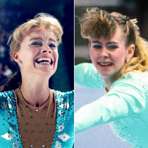 Margot Robbie and Tonya Harding