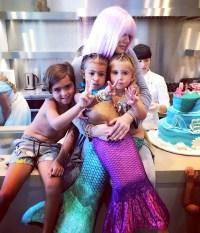 Khloe Kardashian, Mason, North and Penelope