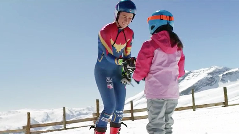 Mikaela Shiffrin Super Bowl ad Olympics