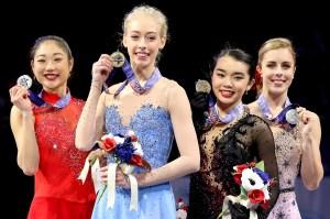 Mirai Nagasu, Bradie Tennell, Karen Chen, Ashley Wagner, U.S. Figure Skating Nationals