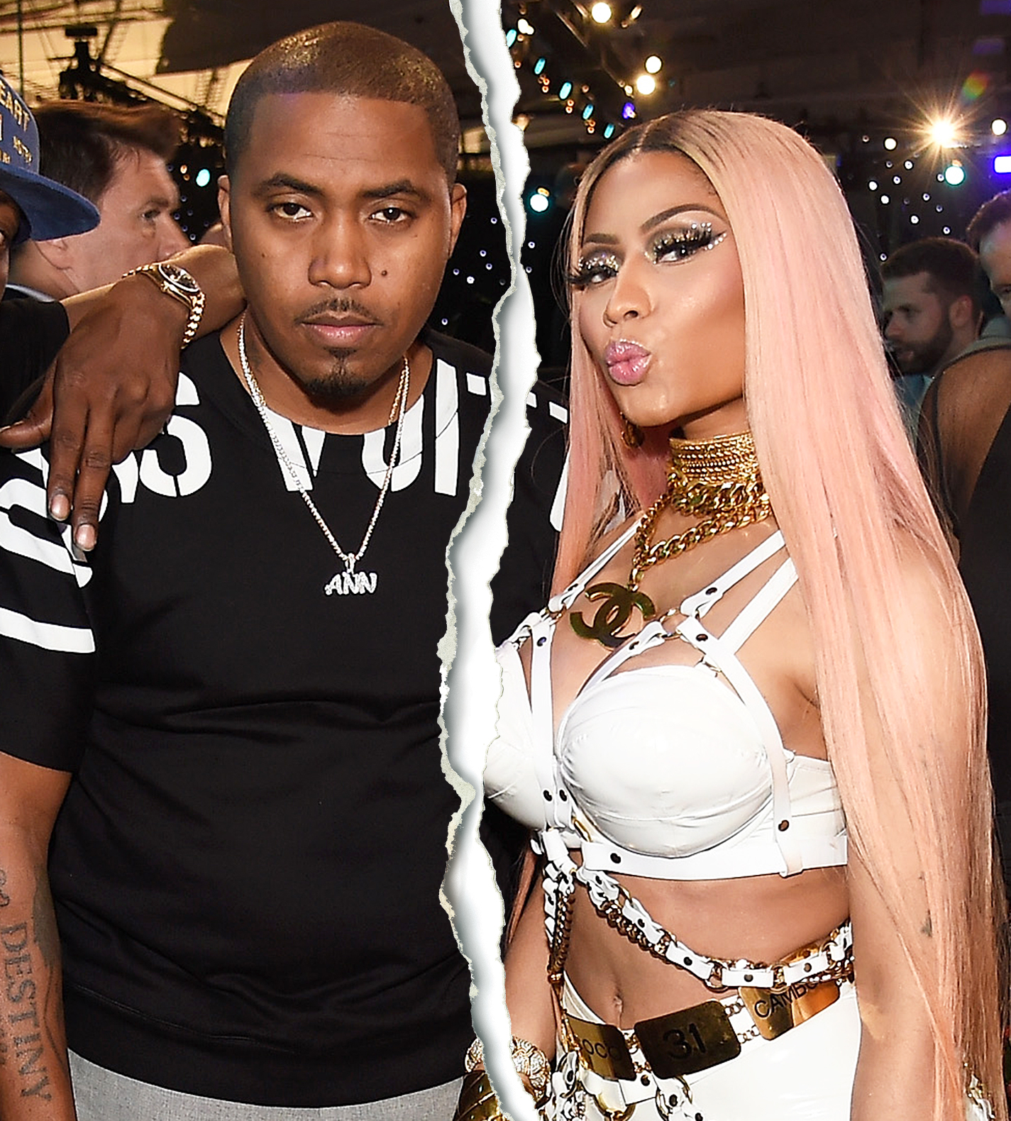 Nas Nicki Minaj split