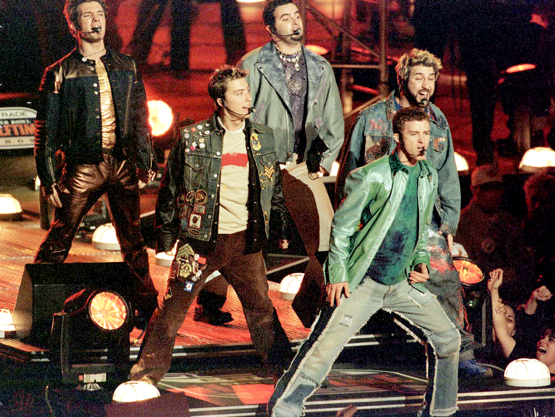 Who should join Justin Timberlake on the Super Bowl stage?