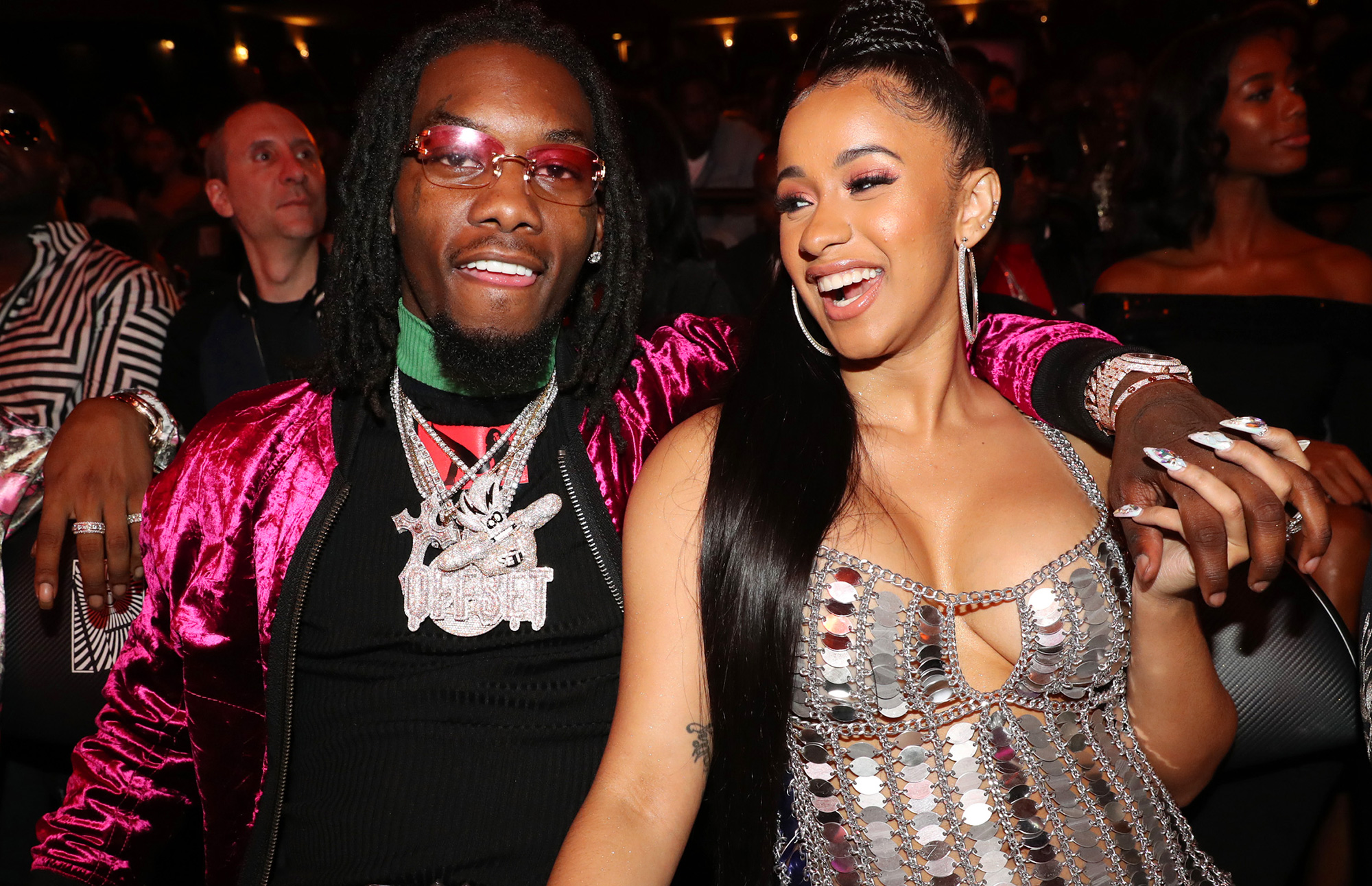 Offset Gets Cardi B\'s Name Tattooed on His Neck