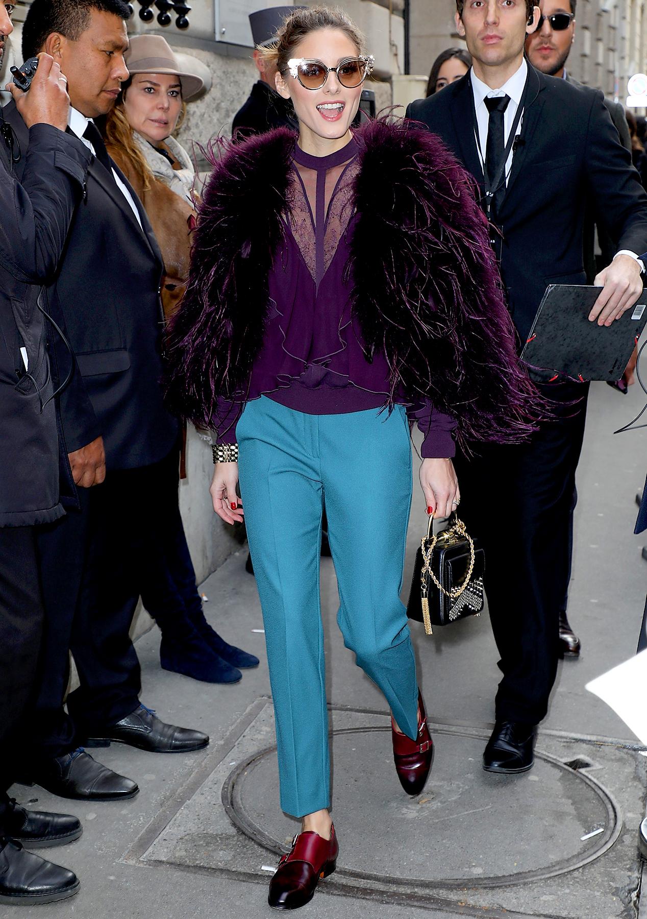 Paris Fashion Week Spring-Summer 2018: Celeb Street Style Looks