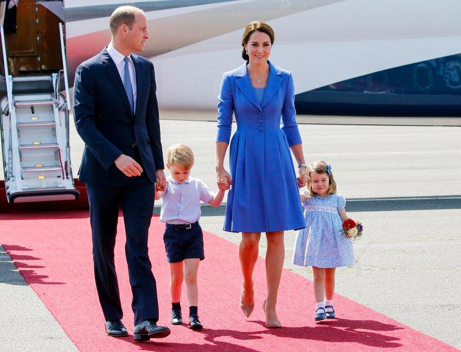 Prince William Prince George Kate Middleton Princess Charlotte