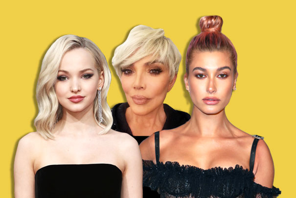 Celeb Hair Transformations 2018 Haircuts Hair Color Extensions