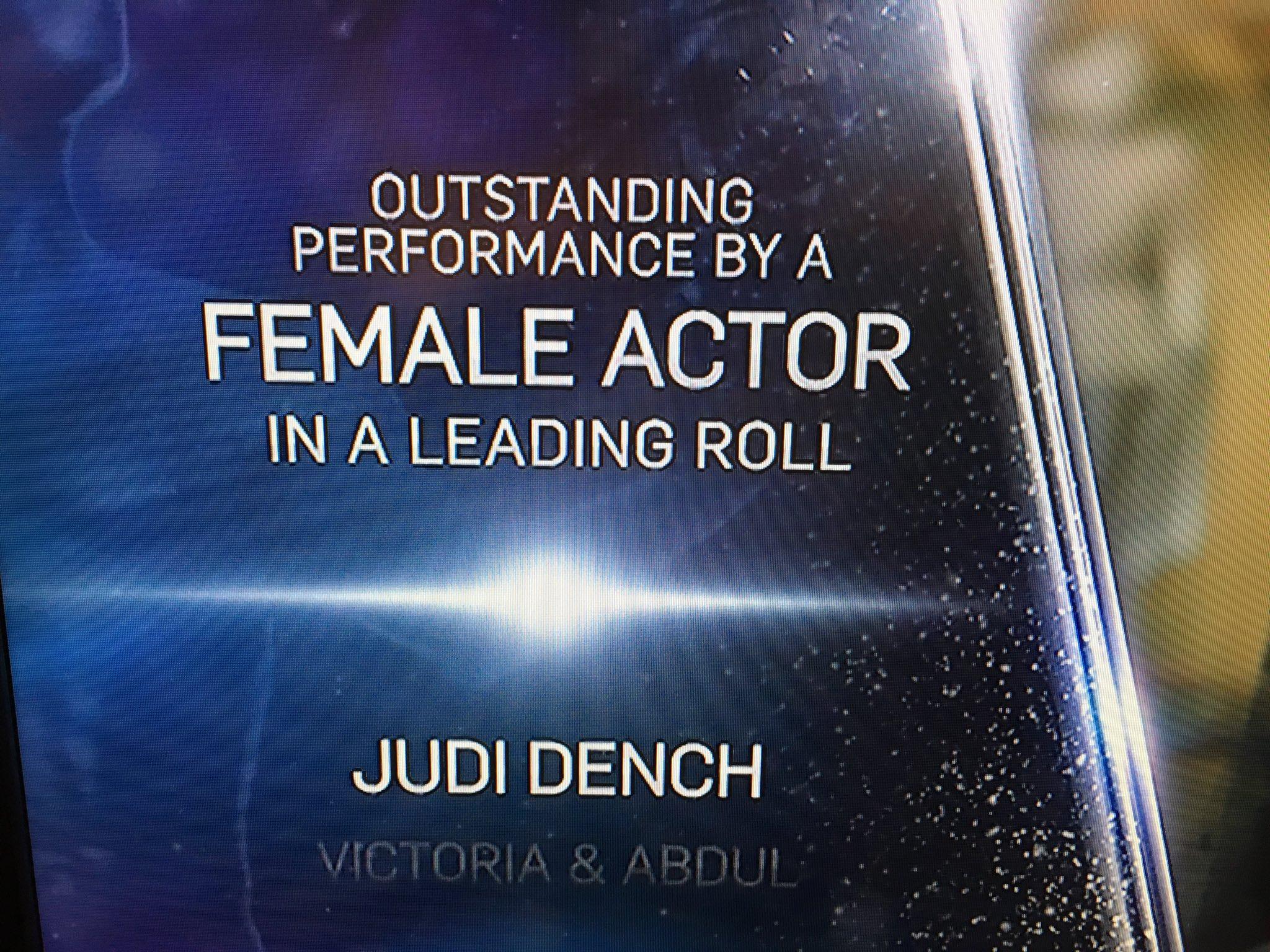 Judi Dench roll