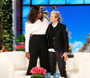 Former First Lady Michelle Obama on 'The Ellen DeGeneres Show'