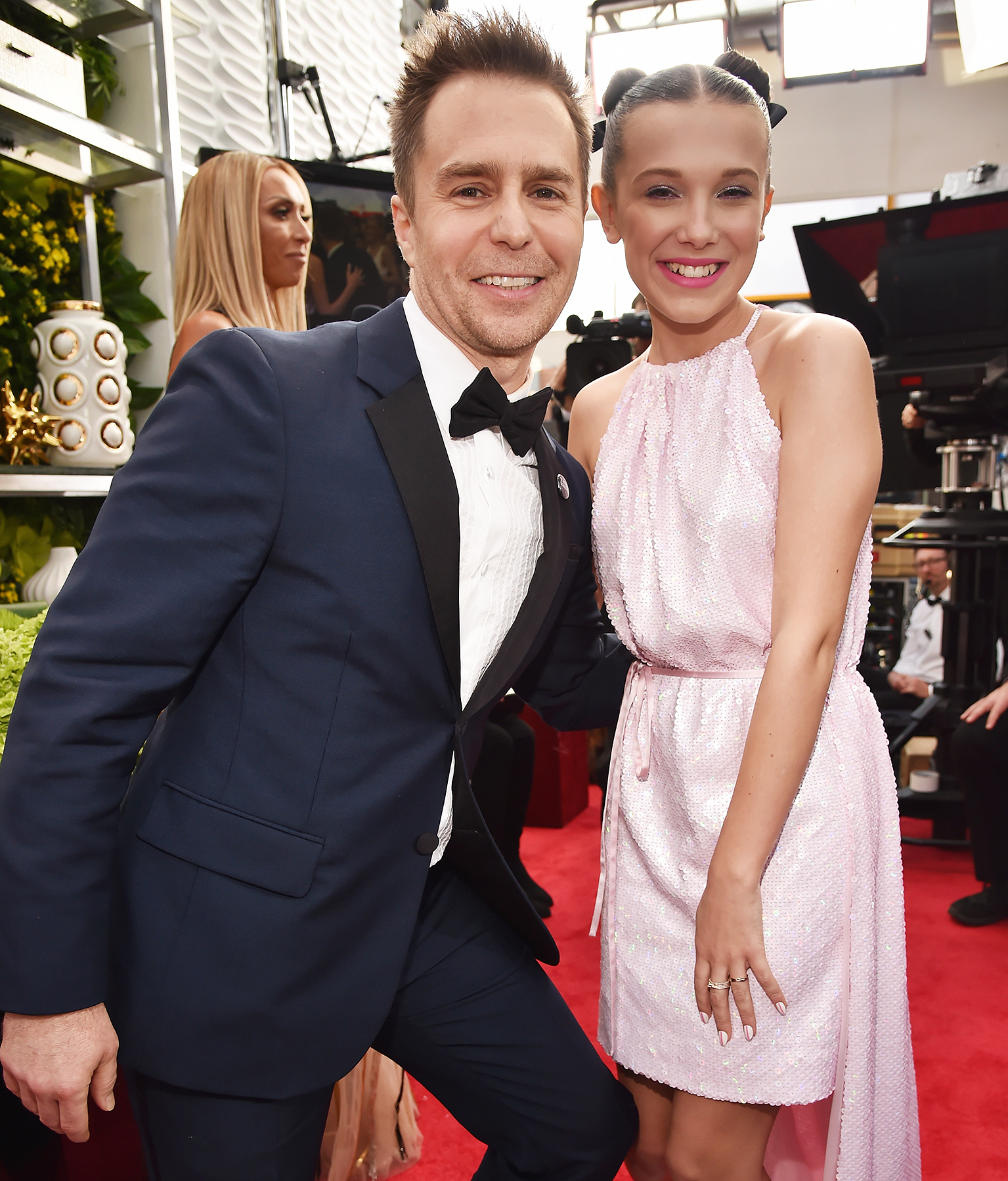 Sam Rockwell Millie Bobby Brown SAGs 2018
