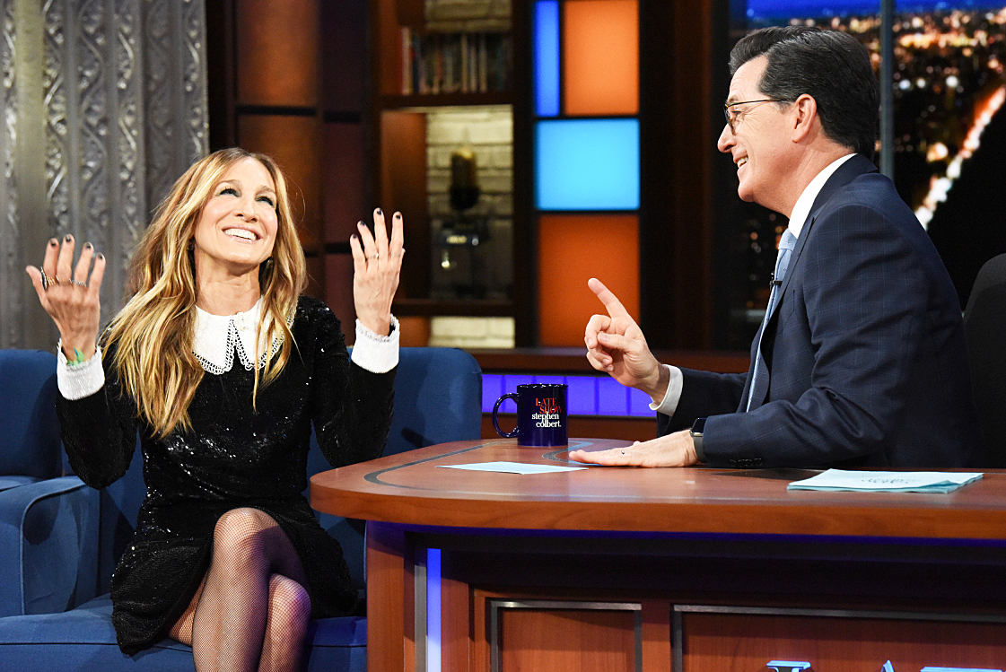 Sarah Jessica Parker The Late Show with Stephen Colbert