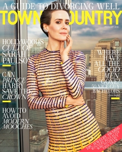 Sarah Paulson Town & Country Magazine Cover