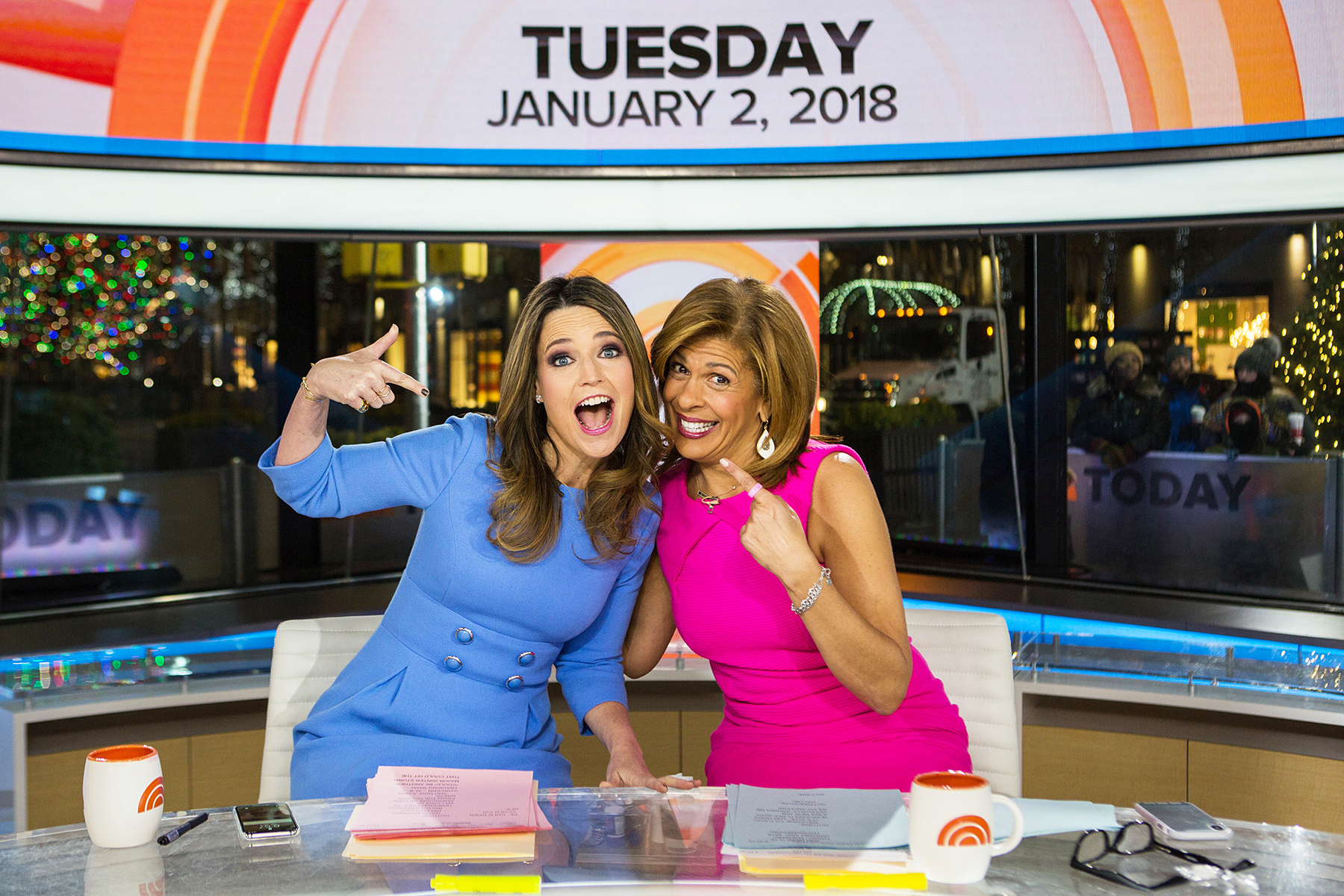 Savannah Guthrie Hoda Kotb TODAY