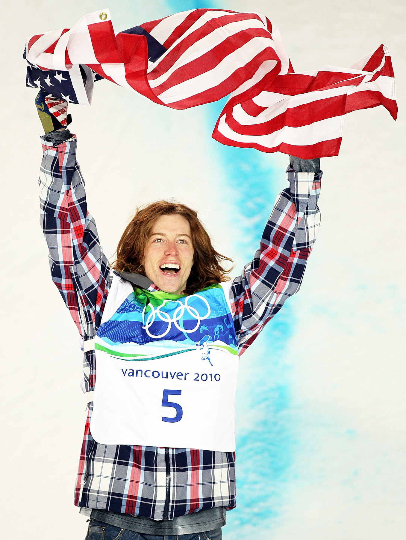 Shaun White Snowboard Men's Halfpipe final Olympics gold medal