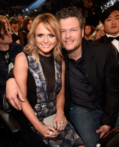 Miranda Lambert and Blake Shelton