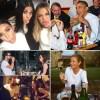 Stars Eating Out Kim Kardashian Kourtney Kardashian Khloe Kardashian President Barack Obama Joshua Jackson Ruth Wilson Gwyneth Paltrow