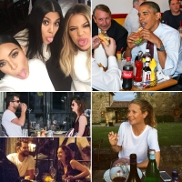 Stars Eating Out Kim Kardashian Kourtney Kardashian Khloe Kardashian President Barack Obama Joshua Jackson Ruth Wilson Gwyneth Paltrow