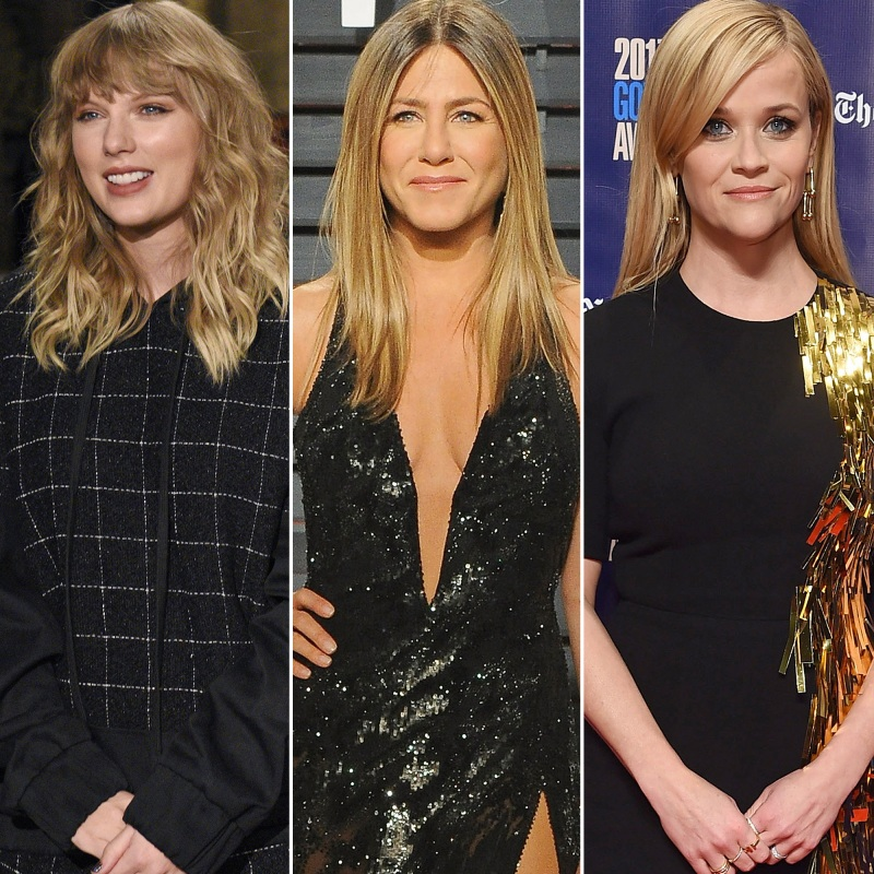 Taylor Swift, Reese Witherspoon, Jennifer Aniston, More Celebrities Donate to Time's Up Movement