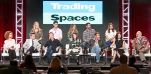 Trading Spaces Paige Davis, Ty Pennington, Carter Oosterhouse, 2018 Winter Television Critics Association Press Tour