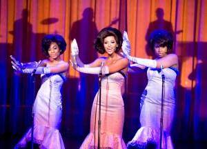 Anika Noni Rose as Lorrell, Beyonce as Deena and Jennifer Hudson as Effie in 'Dreamgirls'