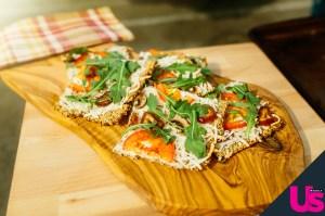 Jennie Garth's Vegan Cauliflower Crusted Pizza