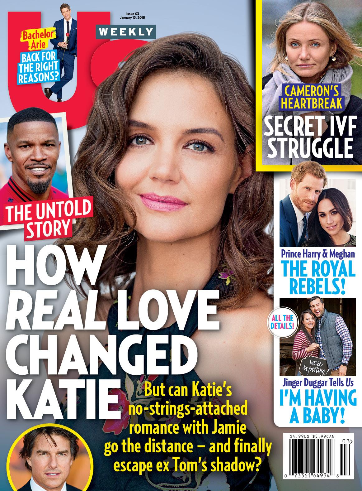 Us Weekly cover Katie Holmes Jamie Foxx