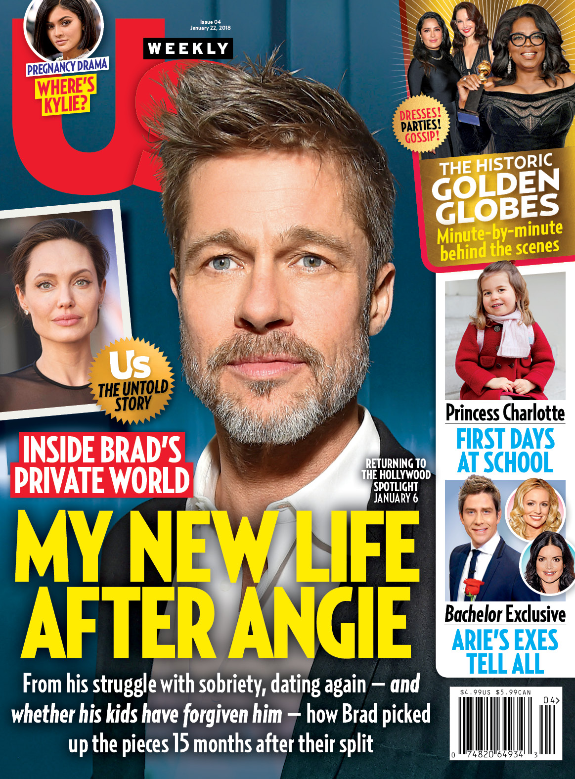 Us Weekly Brad Pitt cover