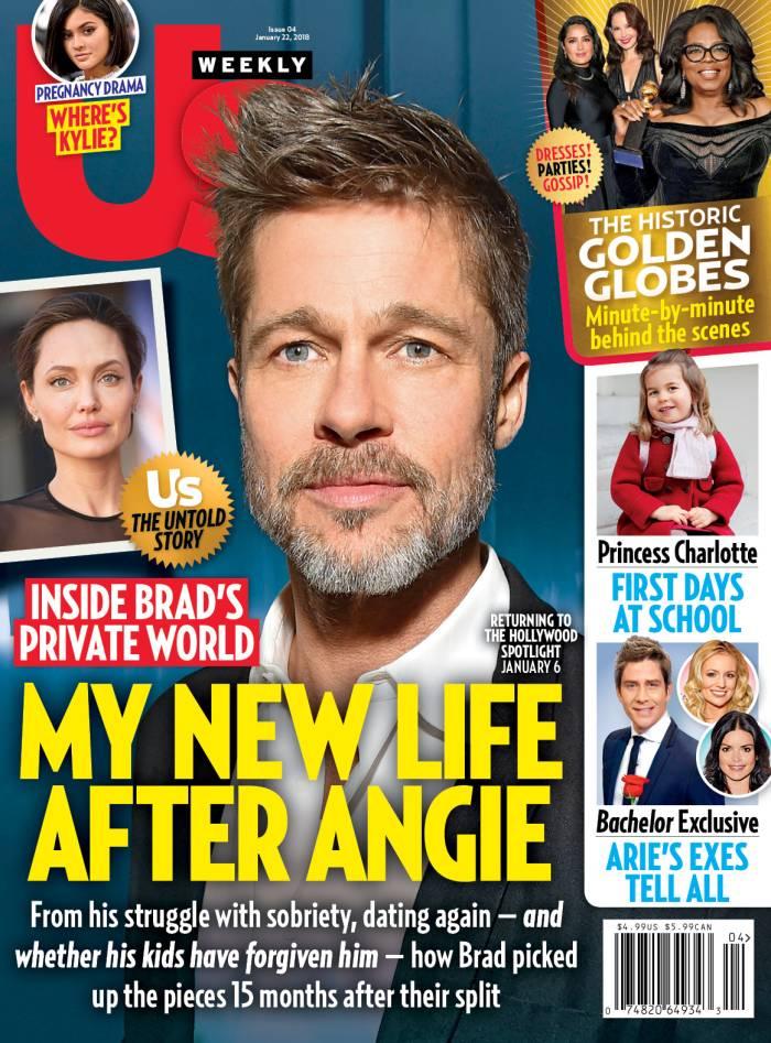 Us Weekly Brad Pitt cover