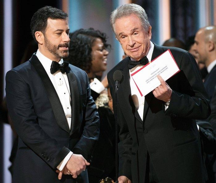 Warren Beatty Oscars 2017 Best Picture