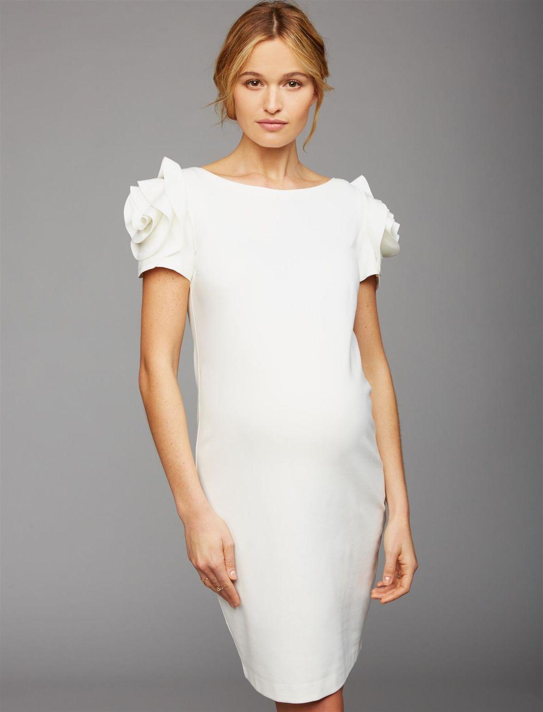 John stamos weds caitlin mchugh shop maternity wedding dresses pietro brunelli ruffled maternity dress ombrellifo Images