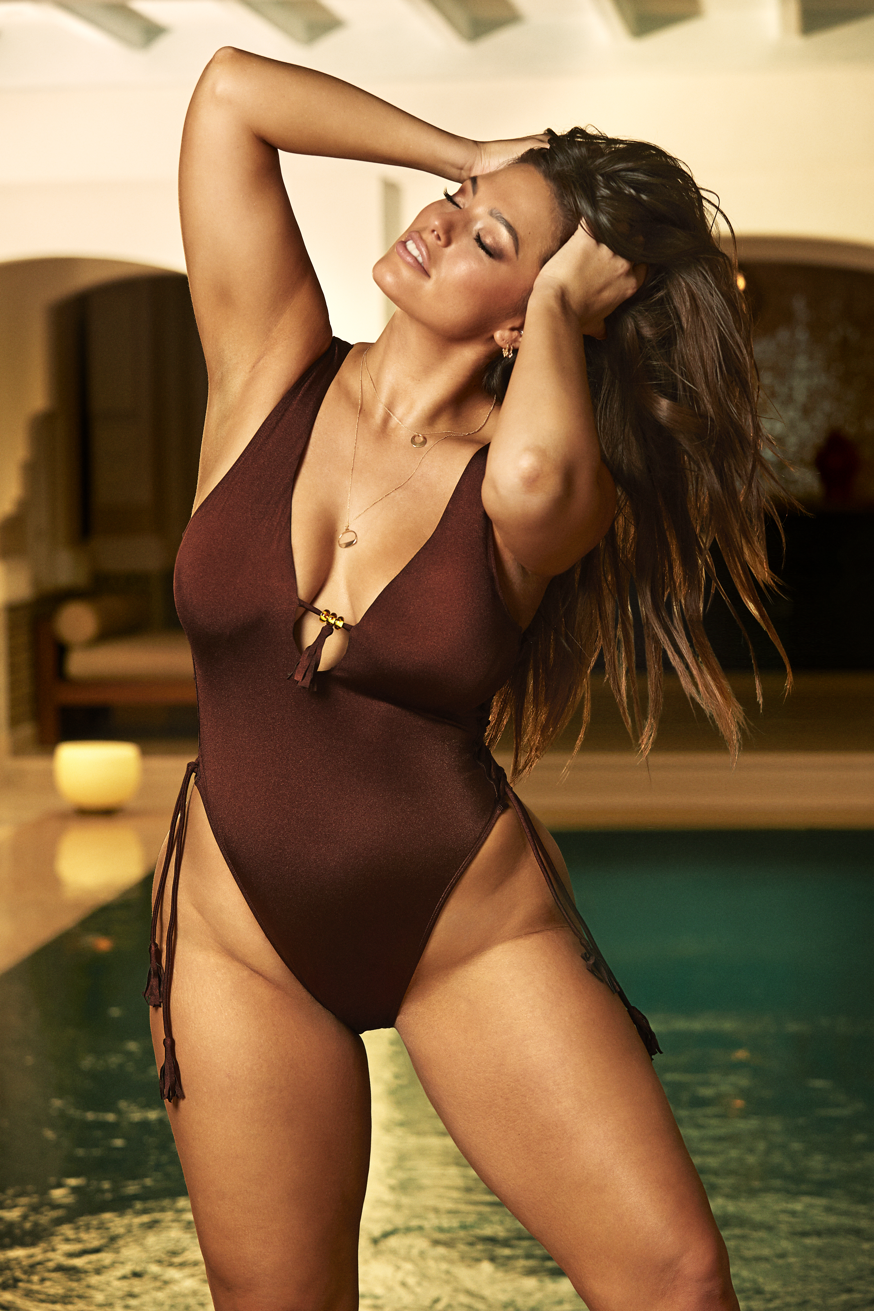 01866bbc646 Ashley Graham's Swimsuits For All Collection: Details, Pics