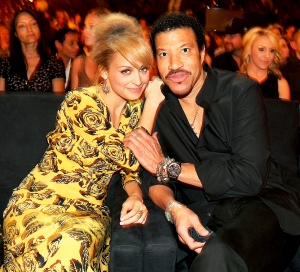 Nicole Richie and Lionel Richie attend 2012 Lionel Richie and Friends in Concert presented at the MGM Grand Garden Arena in Las Vegas, Nevada.