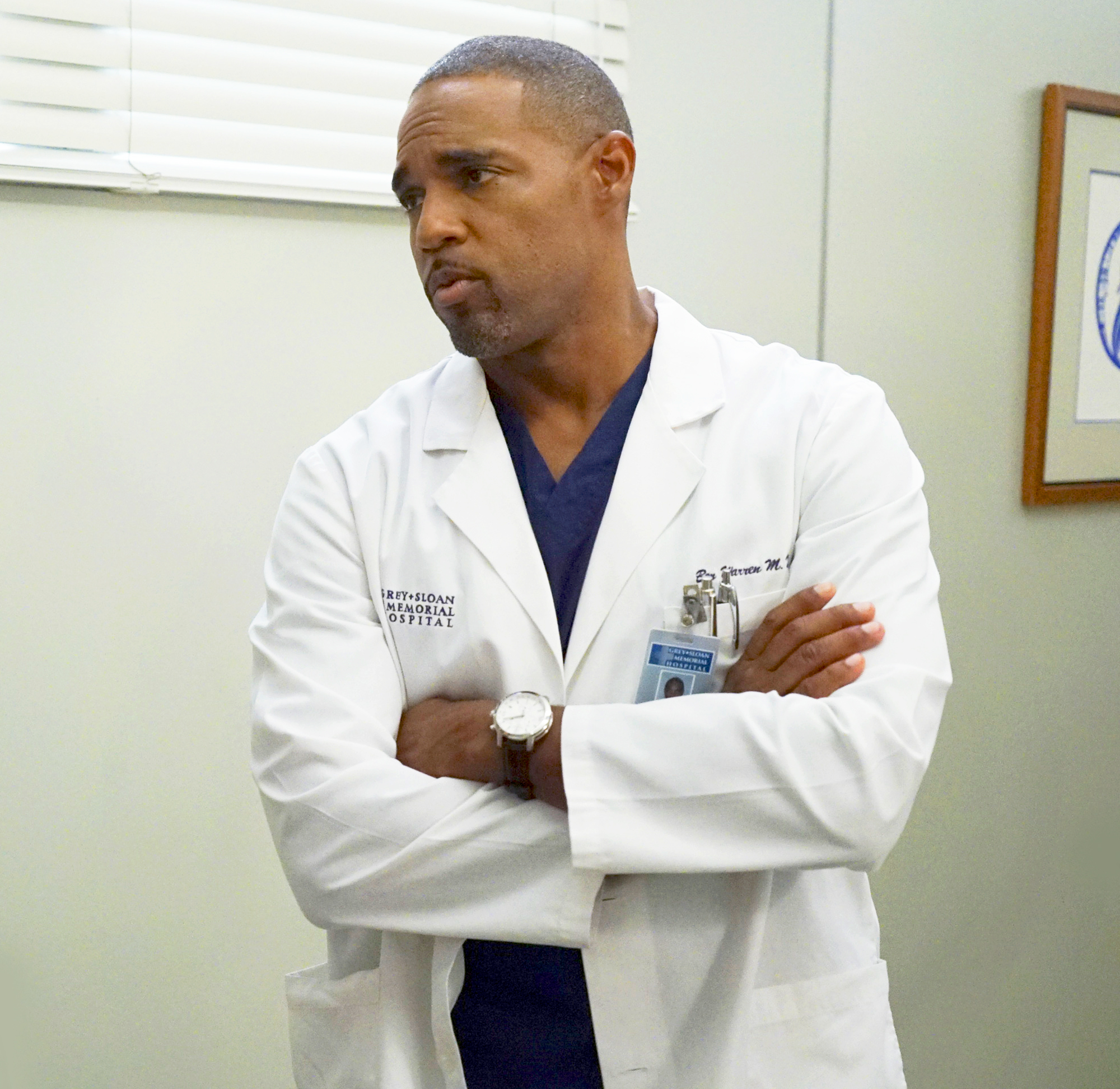 Jason George as Ben Warren on 'Grey's Anatomy'