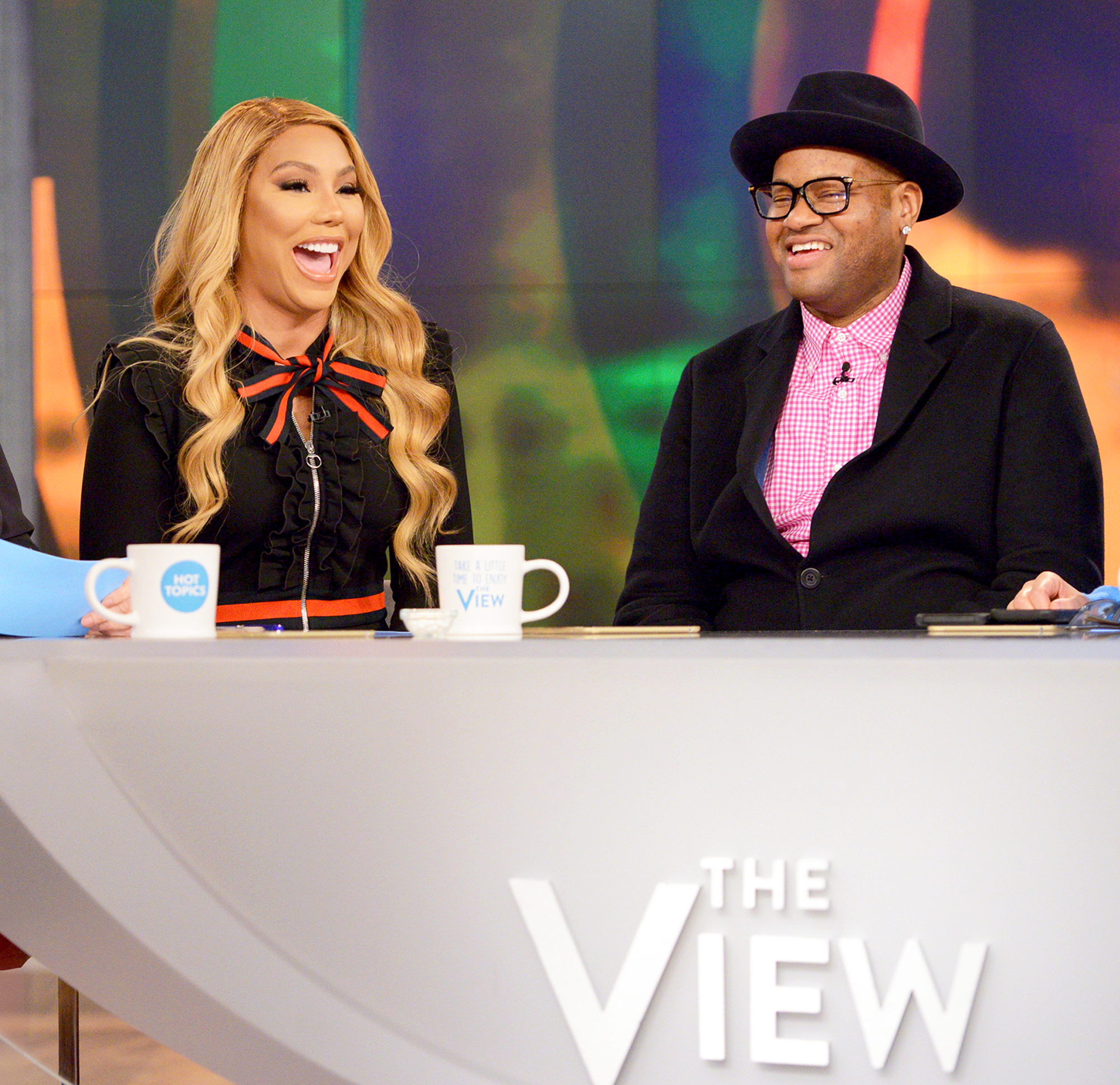 Tamar and Vince talk divorce on 'The View'