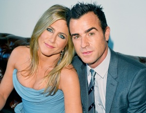 "Jennifer Aniston and Justin Theroux attend the ""Life of Crime"" cocktail reception presented by PANDORA Jewelry at Hudson Kitchen during the 2013 Toronto International Film Festival on September 14, 2013 in Toronto, Canada."