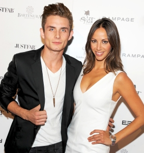 James Kennedy and Kristen Doute attend the 2014 Scene Stealers Event at Lure in Los Angeles, California.