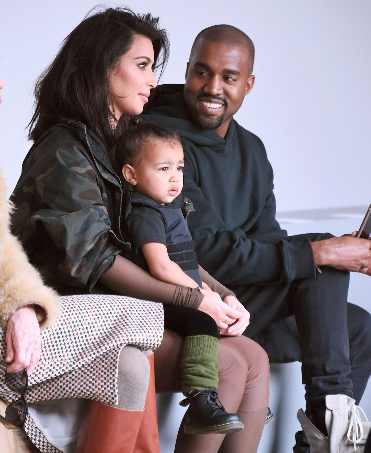 Kim Kardashian, Kanye West's Sweetest Moments With Their Kids