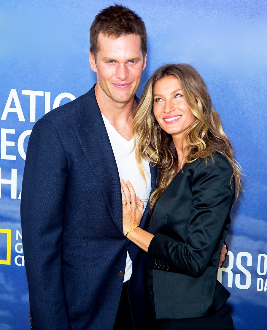 Tom Brady and Gisele Bundchen attend National Geographic's 'Years Of Living Dangerously' new season world premiere at American Museum of Natural History on September 21, 2016 in New York City.