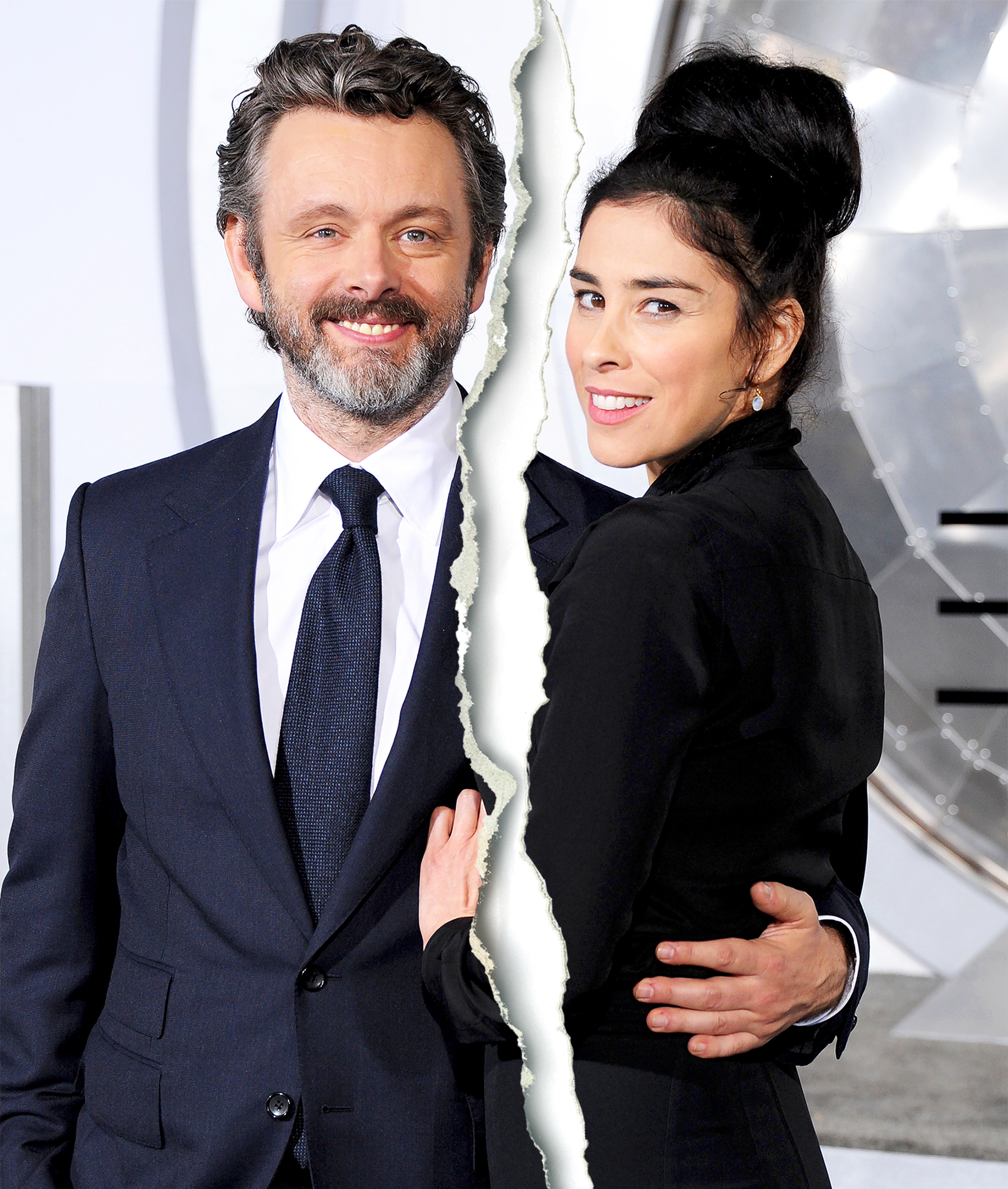 Sarah Silverman and Michael Sheen Split, So You Can 'Stop Asking'