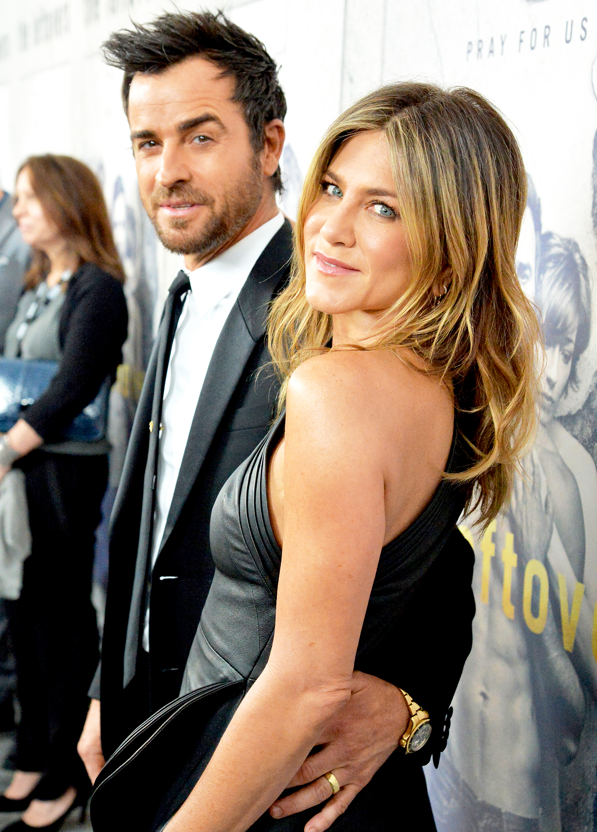 Aniston and Theroux are going to become parents
