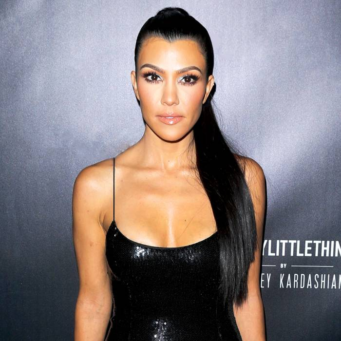 Kourtney Kardashian attends the 2017 PrettyLittleThing by Kourtney Kardashian launch party in Los Angeles, California.