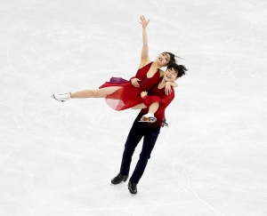 Maia Shibutani and Alex Shibutani of the United States compete in the Figure Skating Ice Dance Free Dance on day eleven of the PyeongChang 2018 Winter Olympic Games on February 20, 2018 in Gangneung, South Korea.