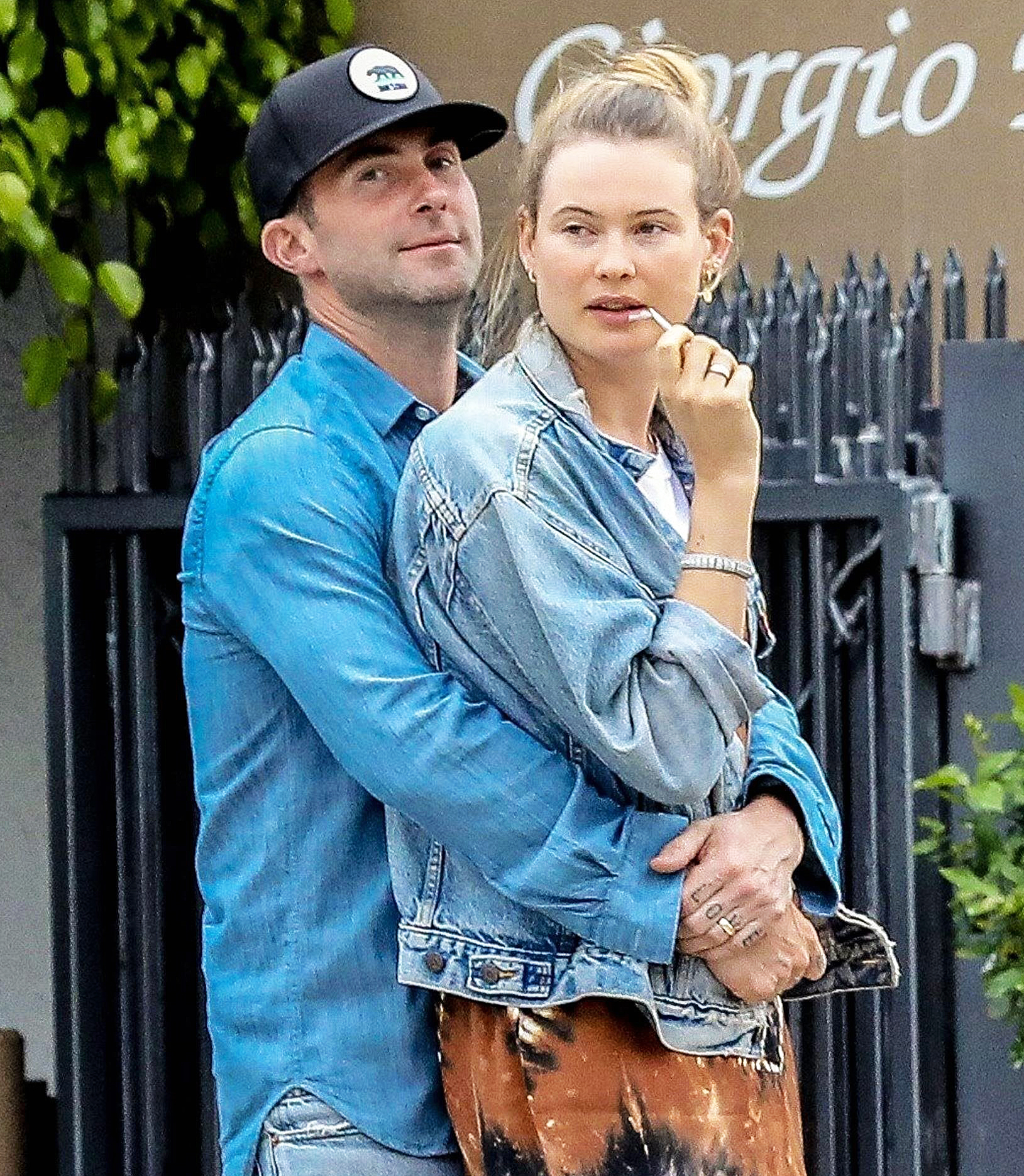 Adam Levine Shared the Sweetest Photo of Behati Prinsloo's Baby Bump